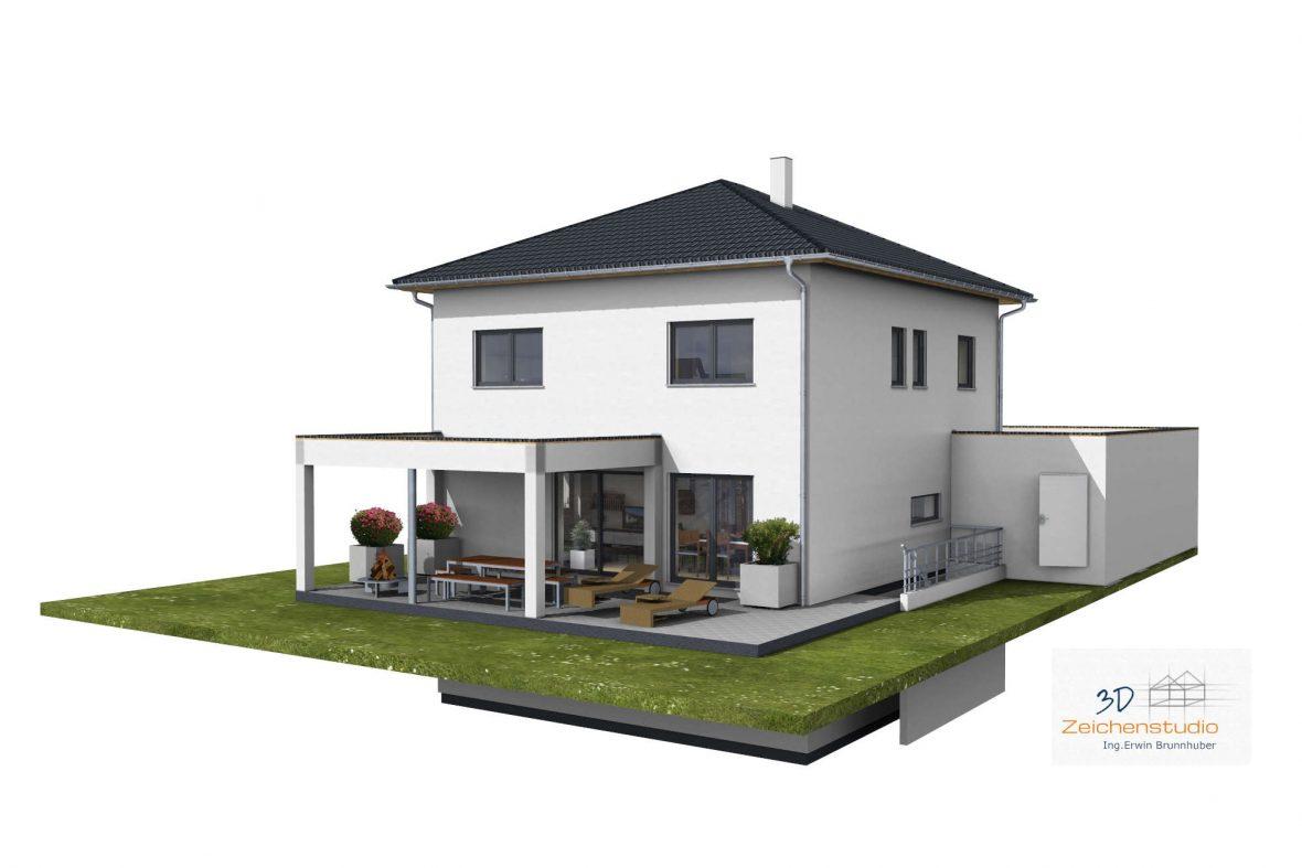 Visualisierung gesamtes Haus